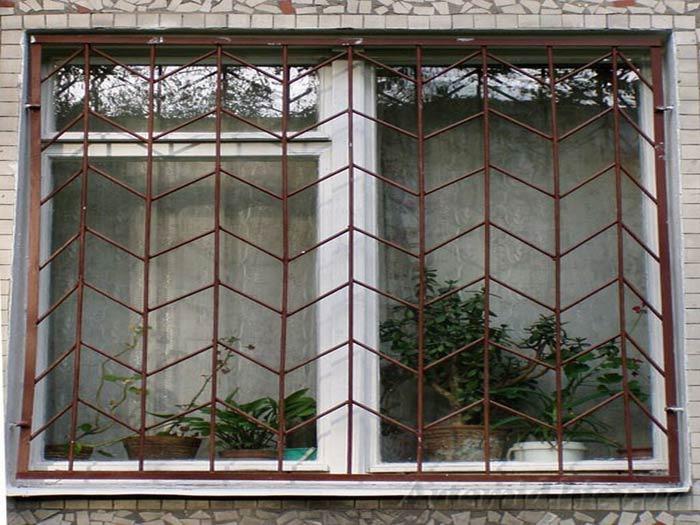 металлические сварные решетки на окна купить